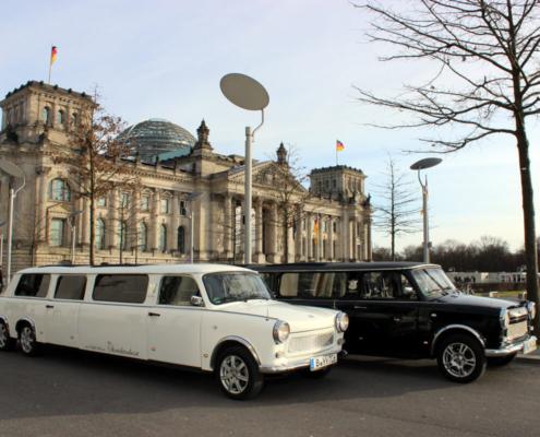 Trabi-XXL Berlin Stretchlimousinen